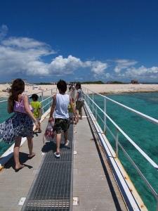 Landing Nagannu island / ナガンヌ島上陸