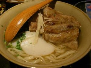 Soki soba / ソーキそば