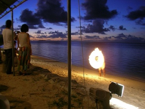 Sunset Beach Barbecue @ Aqua Resort Club Saipan