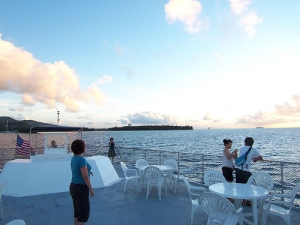 Sunset dinner cruise @ Saipan