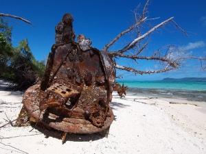 Japanese army's ruin @ Managaha Island
