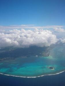 Saipan trip / サイパン上空