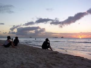 Saipan sunset - day 1 / サイパンの夕陽