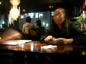Get drunk at Osaka
