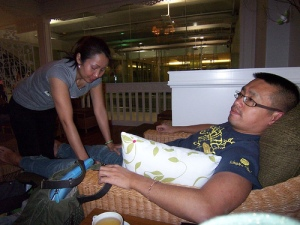 Foot massage @ Suvarnabhumi airport