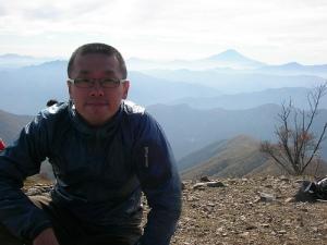 Mt.Takanosuyama 鷹ノ巣山の山頂(雲取山縦走)