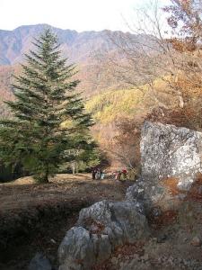 To Mt.Nanatsuishiyama 七ツ石山へ(石尾根縦走路)