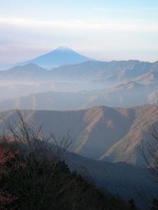 Mt.Kumotoriyama Trek 雲取山の山頂(雲取山縦走)